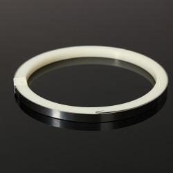 1m * 5mm vernickelt Stahlschweißen Blattstreifen