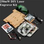 200-250mW DIY Rød Laser Gravering Maskine Kit CNC Laser Printer Industrial & Videnskab