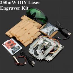 200-250mW DIY Rød Laser Gravering Maskine Kit CNC Laser Printer