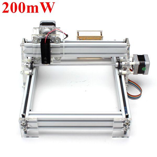 200mW Desktop DIY Rød Laser Gravering Maskine Picture CNC Printer Industrial & Videnskab
