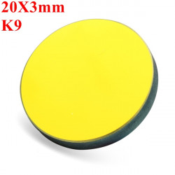 20X3mm K9 Gold Plated Reflection Mirror For CO2 Laser Cutter Engraver