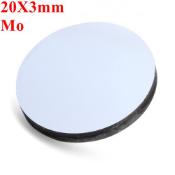 20X3mm Mo Molybdenum Reflection Mirror For CO2 Laser Cutter Engraver