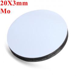 20x3mm Mo Molybdän Reflection Spiegel für CO2 Laser Cutter Stecher