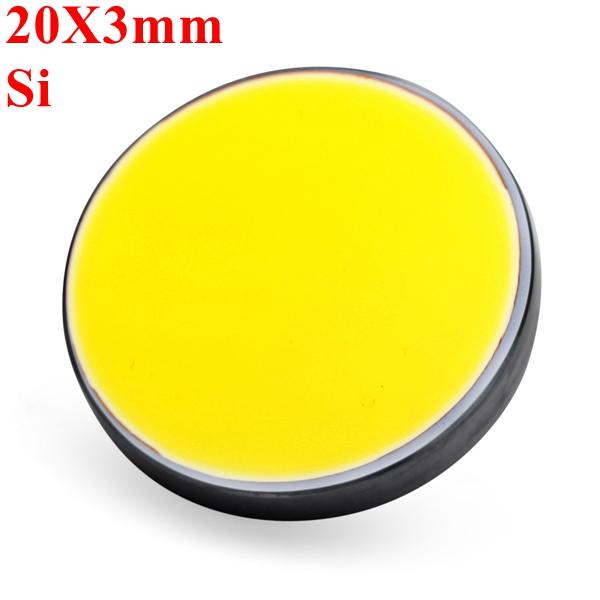 20X3mm Si Silicon Refleksion Spejl for CO2 Laser Cutter Lasergravering Industrial & Videnskab