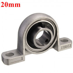20mm Bore Diameter Pillow Block Mounted Kullager KP004 Zinc Alloy