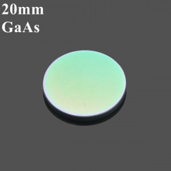 20mm Diameter GaAs Focus Lens for CO2 Lasergravering 50.8mm / 63.5 Mm