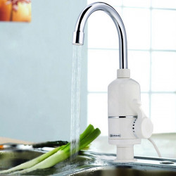 220V 2000W Fast Electric Heating Faucet Under/Side Water Inlet Pipe