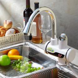 220V 3000W Digital Temperature Display Smart Electric Heating Faucet