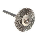22mm Steel Wire Wheel Brush Compatible For Die Grinder Dremael Rotary Tools Industrial & Scientific