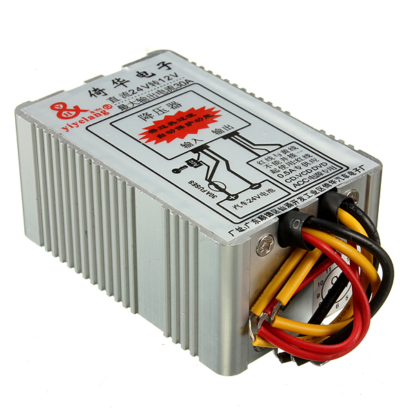 24V to 12V 30A Car Power Supply Inverter Converter Conversion Device Industrial & Scientific