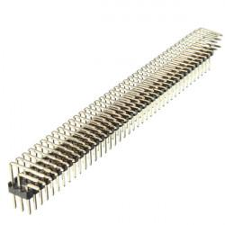 2,54 mm 3x40P Steckstifte 3 Reihe rechtwinklig Pin Header