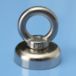 25x30mm Ögleskruv Ringmagnet Salvage Verktyg Neodymiummagnet