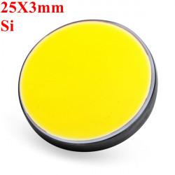 25X3mm Si Silicon Refleksion Spejl for CO2 Laser Cutter Lasergravering