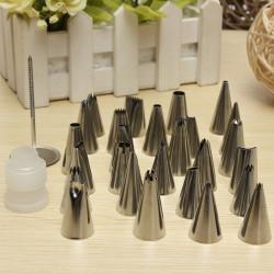 26stk Zuckerglasur friedliche Düsen Kuchen Plätzchen Dekoration Crafts Tipp Set