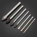 3 12mm Legierung Triangle Tipp Glass Drill Tile Cermic Drill Triangle Drill Industriell & Wissenschaftlich