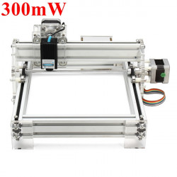 300mW Desktop DIY Violet Laser Engraving Machine Picture CNC Printer
