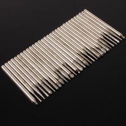 30pcs Diamond Burr Glass Drill Bits For Engraving Rotary Tool Set