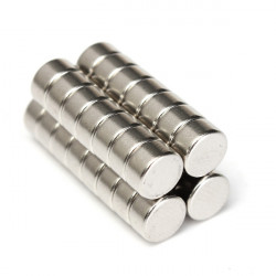 30pcs N52 Super Strong Cylinder Magnets 6mm x 3mm Rare Earth Neodymium Magnets