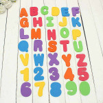 36pcs Foam Letters and Numbers EVA Baby Bathtub Floating Toy Industrial & Scientific