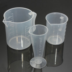 3St Plastmätglas Set Container Bägare Kök Cook Verktyg