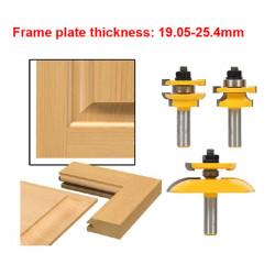 "3stk Tungsten Carbide 1/2"" Router Bits Set Wood Milling Cutter"