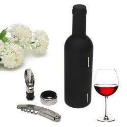 3stk Wein Flaschenöffner Korkenzieher Ausgießer Decapping Werkzeug Set