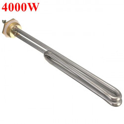 4000W 4KW Electrical Element Booster For Water Heater AC 220V DN25