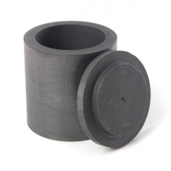 40 * 40mm Graphite Crucible med Låg Lab Supply Artikler
