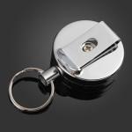 4cm Full Metal Tool Belt Money Retractable Key Ring Pull Chain Clip Industrial & Scientific