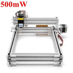 500mW Desktop DIY Violett Lasergravyrmaskin Bild CNC Skrivare
