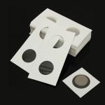 50pcs 2x2 Cardboard Mylar Paper Coin Holder Collection Flip Supplier Industrial & Scientific