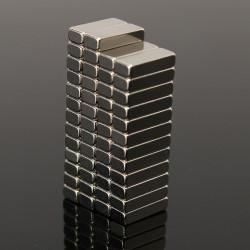 50stk N35 Starke Blockmagneten 8mmx3mmx2mm Seltene Erden Neodym