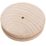 5.3cm Diameter Rundvirke Edge Slicker Läder Poler DIY Läder Verktyg Industri & Vetenskap