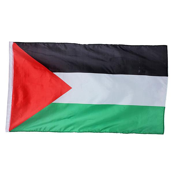 Palestinsk Flagga Palestina Färgade Banner 1 x 1.5m. Industri & Vetenskap
