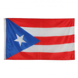 5 * 3 ft. Puertorikaner Flagge Puerto Rico Nationalflagge Farbige Banner