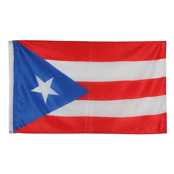 Puerto Rican Puerto Rico Färgade Banner 1 x 1.5m. Industri & Vetenskap