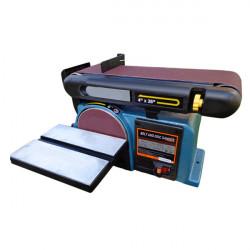 550W 220V Electric Belt and Disc Sander Polishing Machine