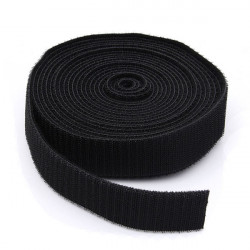 5M Schwarz Strapping Kabelbinder Magic Tape