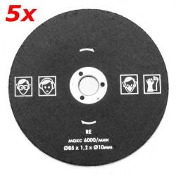 5pcs 85mm Abrasive Disc Cutter Cut-off Wheel Metal Cutting Wheel