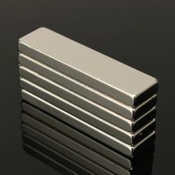 5st N35 Stark Block Cuboid Magneter Jordartsmetaller Neodymium 40x10x4 Mm