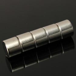 5stk N35 Starke Runde Scheibenmagneten Seltene Erden Neodym 10mm x 8mm