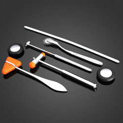5pcs/set Personal Care Doctor Hammer Medical Diagnostic Reflex Hammer
