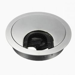 60mm Desk Föring Hole Cover Kabel Tidy Outlet