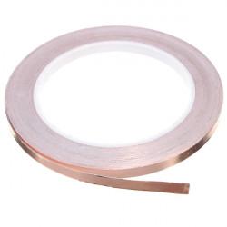 6mmX20m Copper Foil Tape Single Conductive EMI Shielding Adhesive