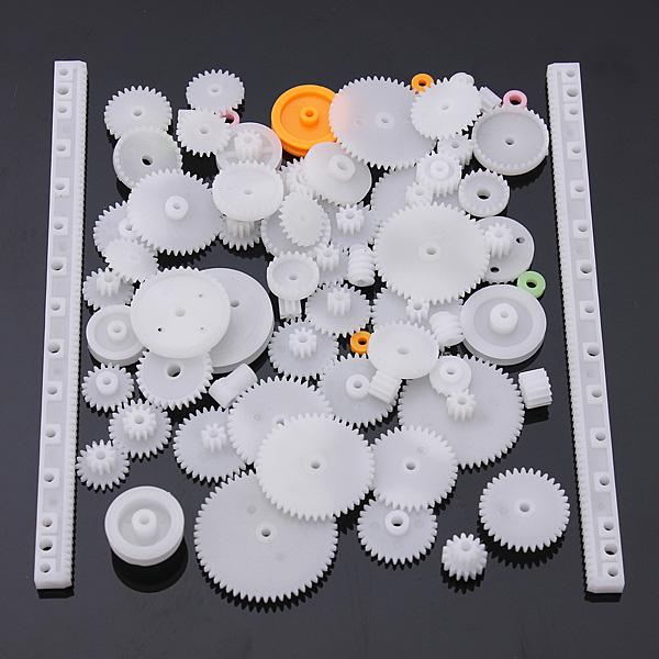 75 Typ Kunststoffzahnkranz Einzel Doppel Setzungsgetriebe Schneckengetriebe Industriell & Wissenschaftlich