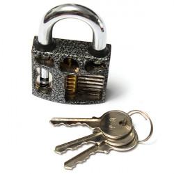 7.8*5CM Practice Lock Padlock Locksmith Training Skill Tool