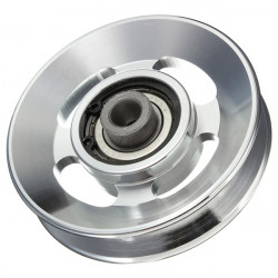 88mm Aluminium Alloy Bearing Wheel for Fitting Equipments