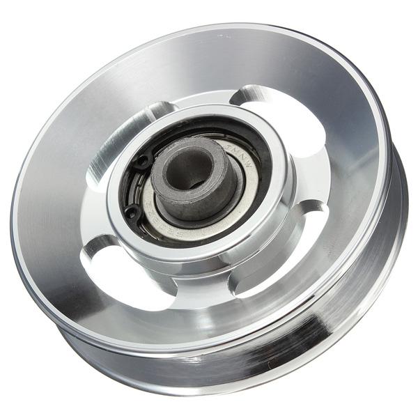 88mm Aluminium Alloy Bearing Wheel for Fitting Udstyr Industrial & Videnskab