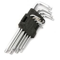 9st Torx Insexnyckel Skruvmejsel Star Key L-nyckel Set T10-T50