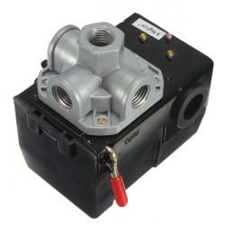 Air Compressor Pressure Switch Kontrol Valve 4 Port 35-150PSI LF10A-4H